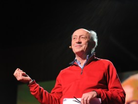 Poems in motion: Billy Collins at TED2012