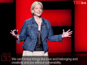 Being vulnerable about vulnerability: Q&A with Brené Brown