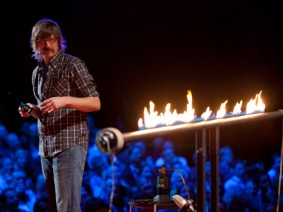 Everything goes better with fire: Jared Ficklin at TED2012