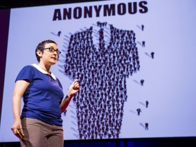 Peeking behind the curtain at Anonymous: Gabriella Coleman at TEDGlobal 2012