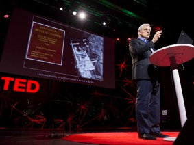 Restoring art to give a future to the past: Maurizio Seracini at TEDGlobal 2012