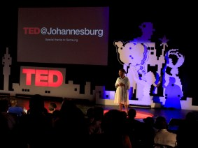 From silent conductors to manta rays: Highlights from TED@Johannesburg