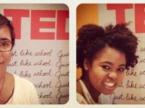 Meet our TEDYouth teen reporters, Sadie and Nia