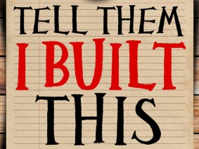 New TED Book: Tell Them I Built This