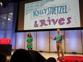 What to expect at TEDActive 2013? A banter-filled Q&A with hosts Kelly Stoetzel and Rives