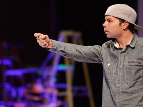 10 spoken word performances, folded like lyrical origami