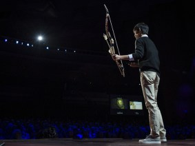 Quoted at TED2013: Dong Woo Jang on making bows in the concrete forest of Seoul