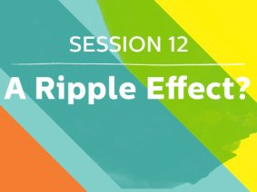 A Ripple Effect: Speakers in Session 12 of TED2013