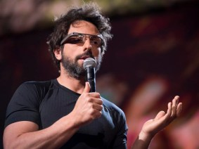 """It's a little freaky at first, but you get used to it"": Sergey Brin and Google Glass at TED2013"