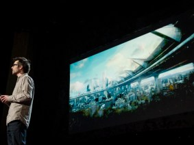 A sci-fi film with a $2 million budget: Martin Villeneuve at TED2013