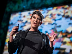 Paper or plastic or what? Leyla Acaroglu at TED2013