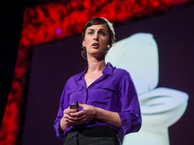 Go home and talk s***: Rose George at TED2013