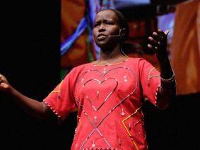Meet Kakenya Ntaiya, who worked with her elders to found a school for girls in her Maasai village