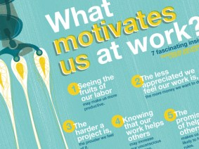 A visual look at 7 things that make us feel good about work