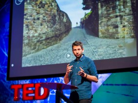 The space between photo and video: Blaise Agüera y Arcas at TEDGlobal 2013