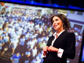 Making peace is a marathon: May El-Khalil at TEDGlobal 2013