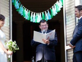 A spoonful of sugar: Reflections on being a wedding officiant and a sexuality educator