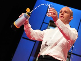 Michael Pritchard on how he's helping end water poverty in Malaysia