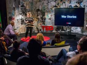 Last night in the TED office: War Stories