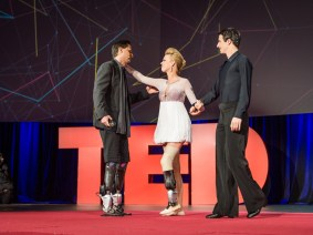 A first dance, on a next-generation bionic limb: Hugh Herr and Adrianne Haslet-Davis at TED2014