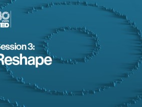 Reshape: The speakers in session 3 of TED2014