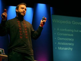 Jimmy Wales' latest venture? A telephone company that doesn't advertise