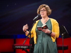 The top 10 words of TED2014, according to Erin McKean