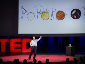 Allan Adams and Randall Munroe explain a physics discovery at TED2014