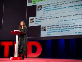 'The Square' and the streets, 3 years on: Jehane Noujaim at TED2014