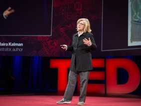 In search for lost pants: Maira Kalman at TED2014