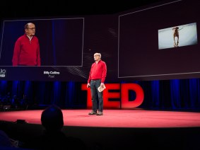 """A Dog on His Master"" and ""The Revenant"": Billy Collins at TED2014"