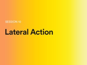 Lateral Action: A sneak peek of session 10 at TEDGlobal 2014
