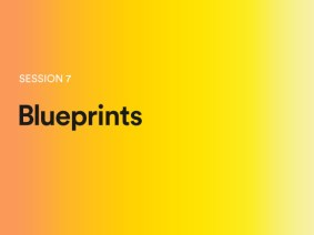 Blueprints: A sneak peek of session 7 at TEDGlobal 2014