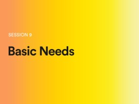 Basic needs: A sneak peek of session 9 at TEDGlobal 2014