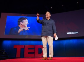 Want to learn how to give a great talk? Chris Anderson is writing the official TED guide to public speaking