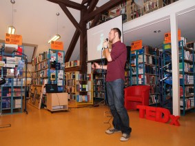 As libraries become cultural hubs, TEDx events bring the community in