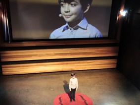 {A satirical TED Talk, inspired by Dostoevsky and given by a 10-year-old}