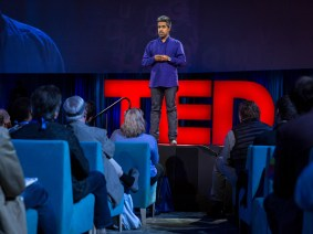 Two Americas collide in a mini-mart: Anand Giridharadas's rousing talk at TED2015