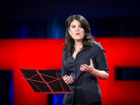 Imagine walking a mile in someone else's headline: Monica Lewinsky speaks at TED2015