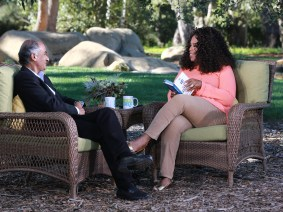 "Pico Iyer inspires Oprah to have ""the biggest aha of my life"""