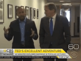 "60 Minutes previews ""TED's excellent adventure"""