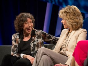 """Women's friendships are a renewable source of power"": Jane Fonda and Lily Tomlin at TEDWomen 2015"