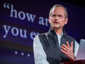 Lawrence Lessig explores a run for president, around one powerful idea