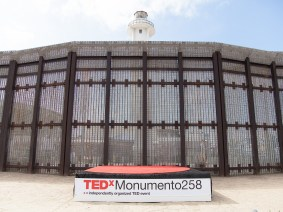 A TEDx event crosses the US-Mexico border, to show that ideas can't be fenced in