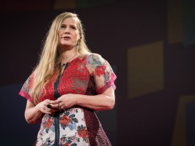 The misfit's journey: Writer Lidia Yuknavitch tells her story at TED2016