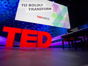 Seeing opportunities for change: The talks of TED@BCG
