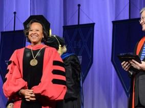 TEDWomen update: Wellesley inaugurates Dr. Paula Johnson