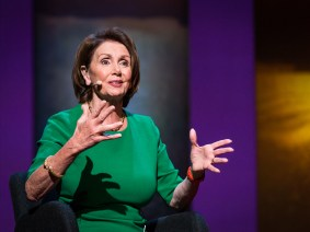 Know your power, be sure of your convictions, and act upon them: Nancy Pelosi speaks at TEDWomen 2016