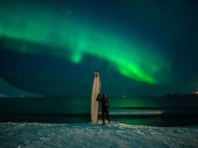 Chris Burkard's quest for the perfect Arctic surf