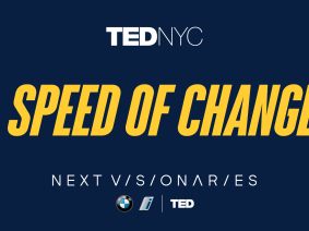 Speed of change: The talks of TEDNYC x BMW i